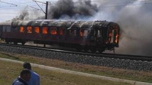Incendiu în tren: Zeci de pasageri au fost evacuaţi de urgenţă