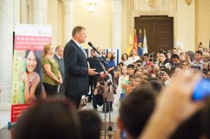 Cum a fost sărbătorită Ziua copilului la Palatul Cotroceni. Imagini memorabile / Foto: presidency.ro