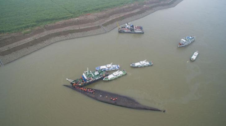 Tragedie pe râul Yangtze