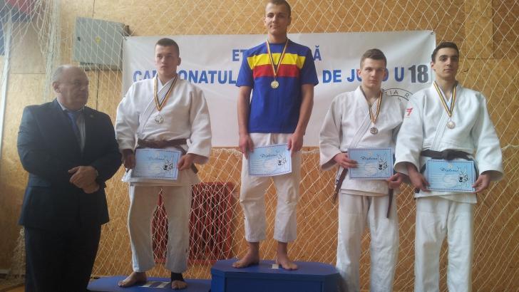 Cosmin Andrei Guşă, campion naţional la judo