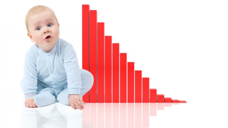 Record negativ al natalității în România în 2014: 185.000 de nou-născuți