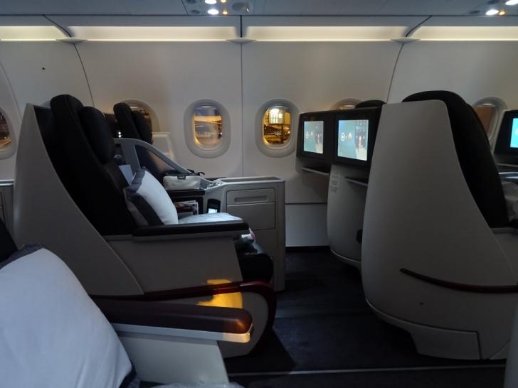 La bordul Qatar Airways