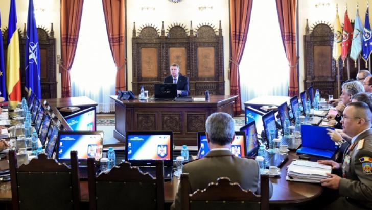 Şedinţă CSAT, marţi, la Cotroceni. Iohannis şi Ponta, faţă-n faţă - surse