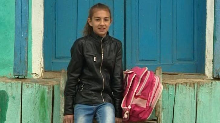 Povestea Nicoletei, fetița din Vaslui care iubește geografia și visează la drumeții
