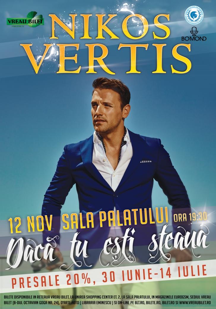 Nikos Vertis va face furori cu cea mai mare petrecere bouzoukia din Romania