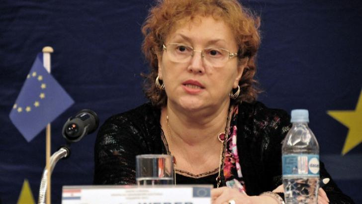 Renate Weber: Nu se impune sub nicio formă audierea lui Victor Ponta în Parlamentul European