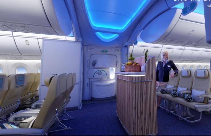Condiții de lux la Qatar Airways