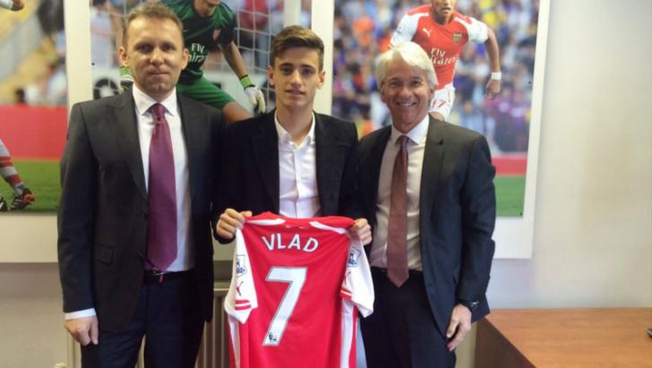 Englezii au rămas şocaţi de pasiunile fotbalistului român care a ajuns la Arsenal