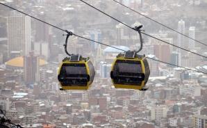 Capitala La Paz, de la trafic sufocat la trafic aerian