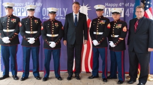 Recepție de 4 iulie la Ambasada SUA. Iohannis: România rămâne partenerul de încredere al SUA