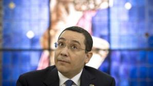 Ponta iniţiază ceremonia de lansare a programului de practică în Guvernul României.