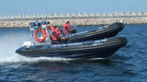 Un poliţist prins când lua mită a sărit în mare dintr-o barcă, pentru a scăpa de procurorii DNA