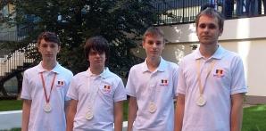 Elevii români medaliaţi la CEOI 2015.