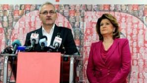Liviu Dragnea şi Rovana Plumb îşi dispută şefia PSD, la Comitetul Executiv