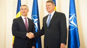 Iohannis a promulgat legea în baza căreia va funcţiona la Bucureşti Centrul de comandă NATO