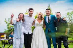 Primele poze de la nunta lui Cornel Ilie cu Eliza