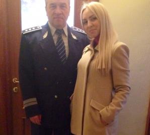 Mariana Layar, alături de tatăl său. sursa foto: Facebook