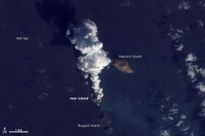 Insule noi în Marea Roșie