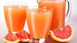 Bea un pahar de suc de grepfrut în fiecare zi şi vei scăpa de aceste boli grave!