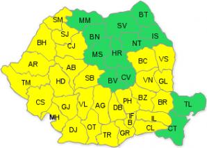 România se topeşte! Cod galben de caniculă pentru miercuri şi joi, pentru trei sferturi din ţară