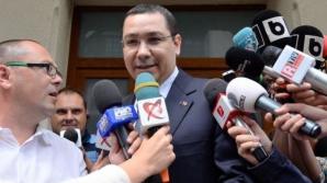 Ponta: Plecarea mea pentru a veni exact cei care au distrus România înainte de USL ar fi o trădare