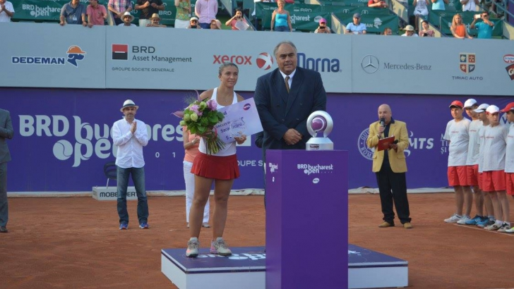 BRD Bucharest Open. Anna Karolina Schmiedlova a învins-o pe Sara Errani