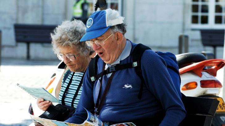 Seniori în excursie