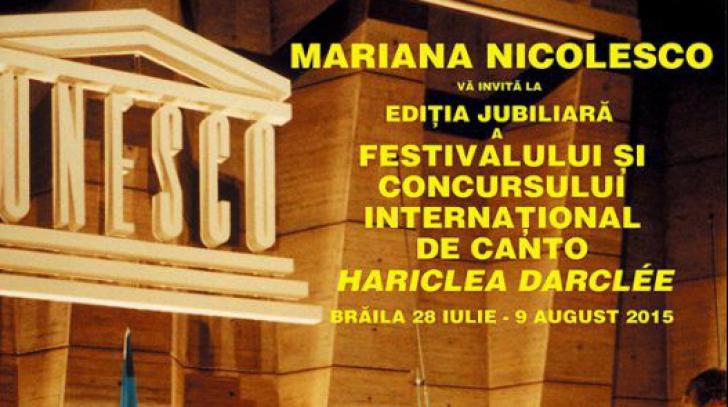 A început Ediția Jubiliară a Festivalului și Concursului Internațional de Canto Hariclea Darclée