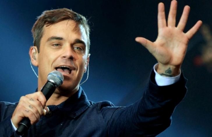 Robbie Williams, concert electriyant