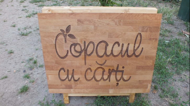 """""""Grădina din cărţi"""" de la Grădina Botanică din Bucureşti"""