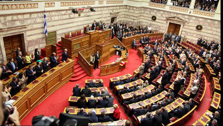 Parlamentul Greciei a aprobat măsurile economice convenite cu Eurogrup