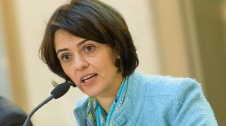 Delia Velculescu, fosta sefa a FMI în Grecia