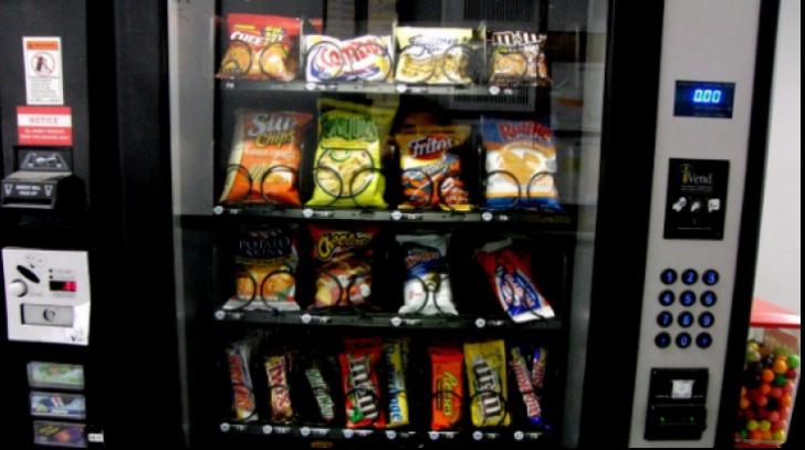 Cât de sănătoase sunt produsele din automatele cu mâncare