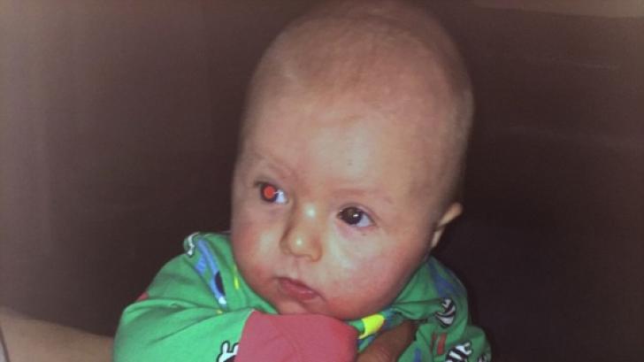 A observat ceva ciudat în poza făcută copilului. A mers la medic și a primit o veste neplăcută