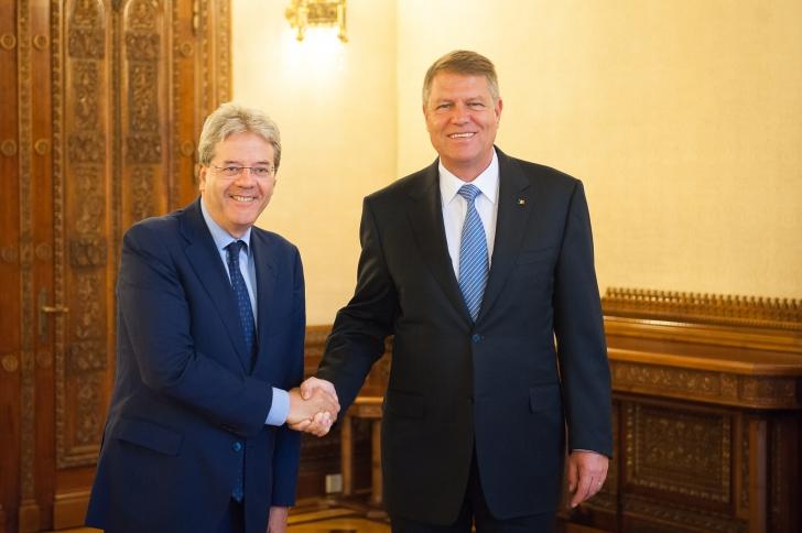 Iohannis, întâlnire cu ministrul de Externe al Italiei. Discuție de mare importanță pentru români