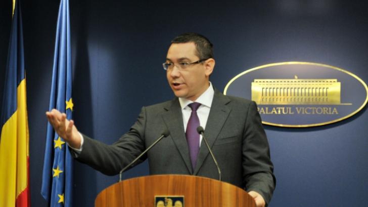 Cum face Ponta rectificarea pentru Cotroceni. Cât i-a luat lui Băsescu şi cât i-a dat lui Iohannis