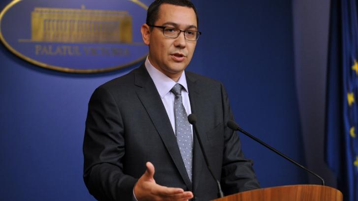 Cum se laudă Ponta pe Facebook cu măsuri fiscale adoptate de alții