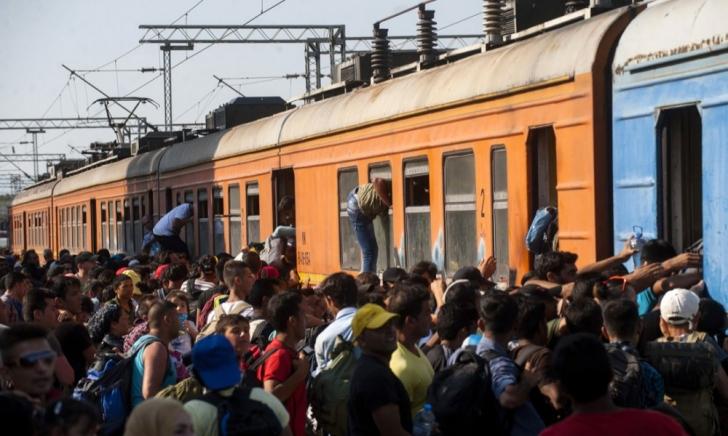 <p>Transport halucinant în Ungaria: Zeci de extracomunitari, duși într-un vagon cu ușile blocate</p>