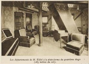 Misterul camerei secrete, construită de Gustave Eiffel în celebrul turn din Paris. Imagini rare