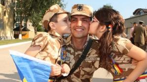 Ceremonia de plecare în Afganistan