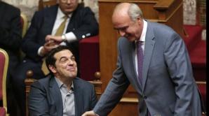 Tsipras și Evangelos Meimarakis