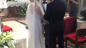 Cea mai frumoasă fotografie cu Laura Cosoi în rochie de mireasă