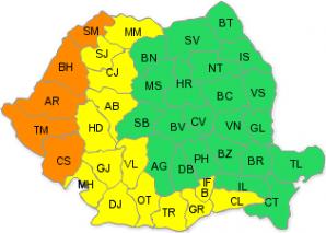România se topeşte! Codul portocaliu de caniculă a fost prelungit