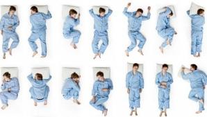 Poziţii de dormit