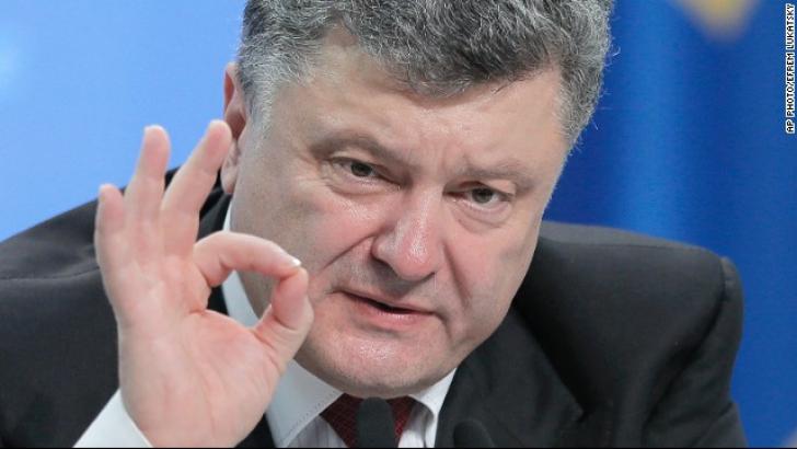 Petro Poroșenko: Rusia a trimis trei convoaie militare în estul separatist al Ucrainei