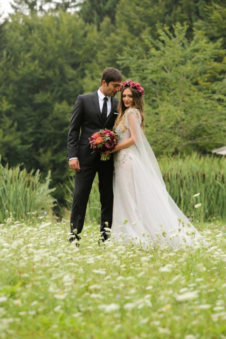 Adela Popescu s-a măritat! A făcut nunta în secret, dar noi avem fotografiile / Foto: blogul personal