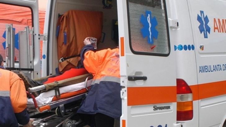 Accident teribil în Cluj. O maşină a ANAF a lovit o femeie