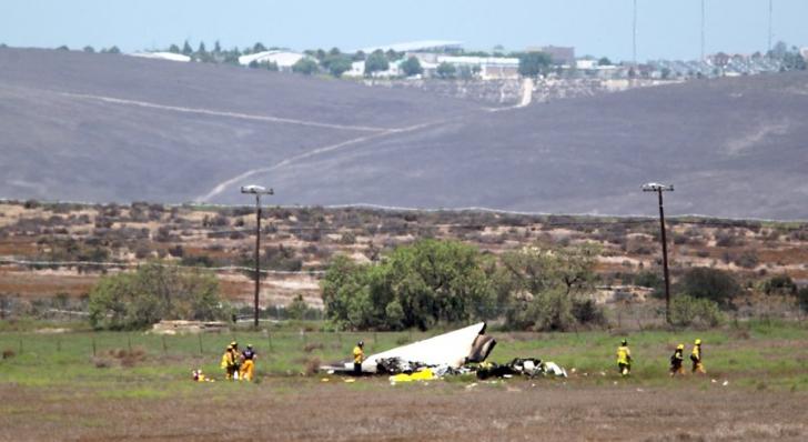 Accident aviatic teribil. Două aeronave s-au ciocnit