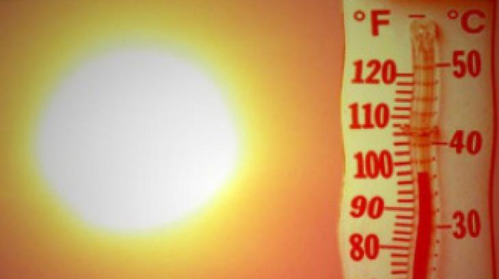 Record de temperaturi: termometrele au arătat 49,1 grade Celsius
