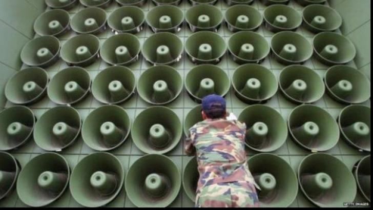 Prima măsură luată pentru încetarea războiului psihologic dintre cele două Corei